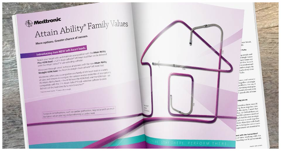Attain Ability Family Journal Ad DPS